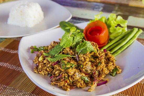 Spicy North East Style Salad (Laab)