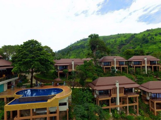Ranong Province, Thailand: วิคตอเลียคลิฟ พม่า