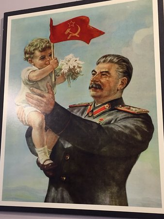 San Rafael, Kalifornia: Stalin with baby