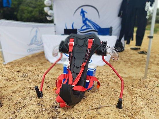 Cowes, Australia: Optional Jetpack