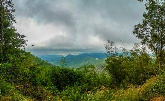 Suphan Buri, Thailand: phu Toei - view