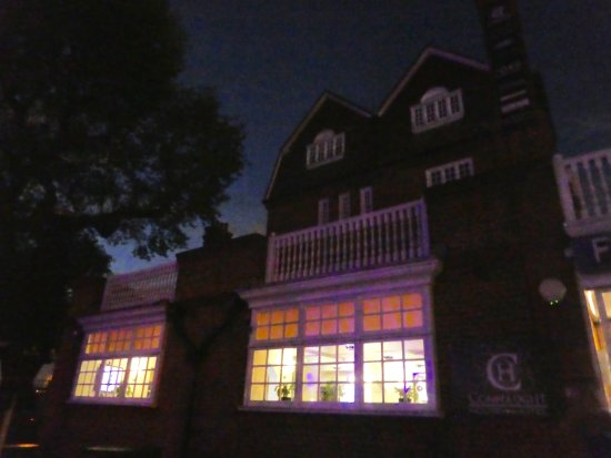 Fox Connaught: Hotel by night