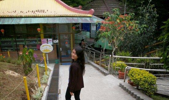 Pondok Brastagi, Indonesien: Pagoda, Taman Lumbini