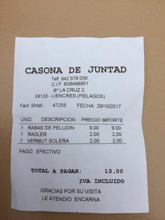 Liencres, España: Casona de Juntad
