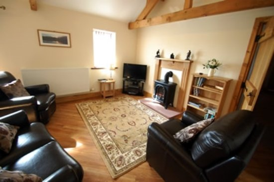 Dearham, UK: lounge The Old Byre