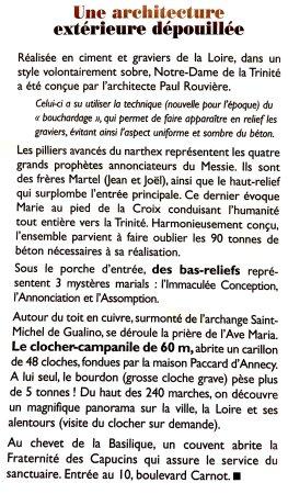 Basilique Notre-dame De La Trinite : Extrait du guide de visite