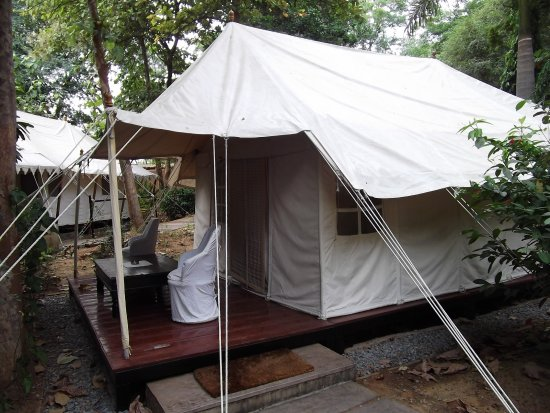 Our luxury tent at Khem Villas