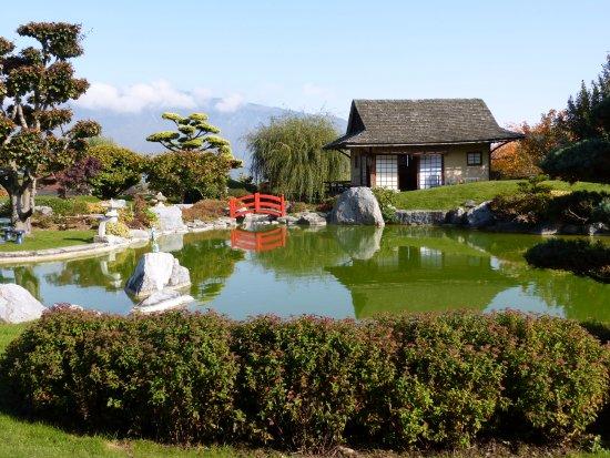 Chatillon-en-Michaille, France: le jardin est actuellement fermé pour son repos hivernal  de nove,dec, janv,fevr et mars