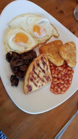 The Tullie Inn: Lovely veggie breakfast