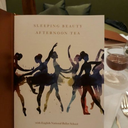 "Our fabulous ""Sleeping Beauty"" afternoon tea at The Dorchester hotel."