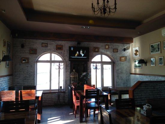 Vawkavysk, Hviterussland: Один из залов пиццерии на 30 мест