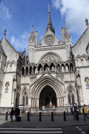 royal court of justice ロンドン royal courts of justiceの写真
