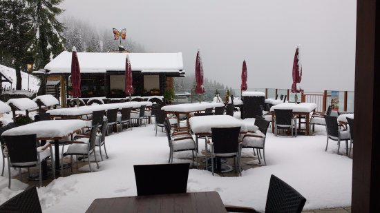 Hermagor, Austria: Ook in september kan het sneeuwen