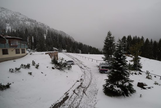 Hermagor-Pressegger See, Österreich: Ook in september kan het sneeuwen