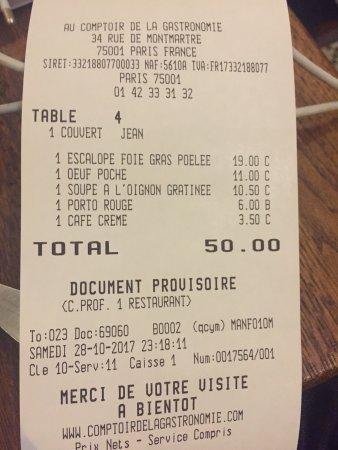 Comptoir de la gastronomie paris restoran yorumlar - Comptoir de la gastronomie ...