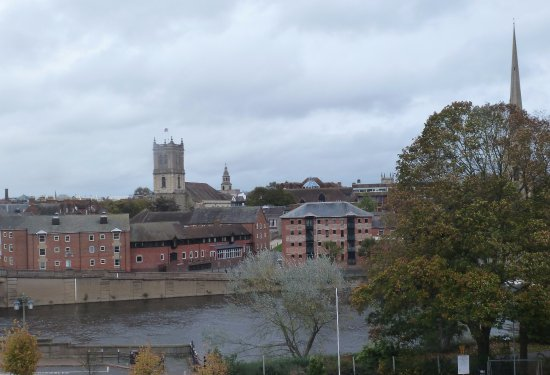 Premier Inn Worcester City Centre Hotel: View from room