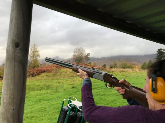 "‪‪Newtonmore‬, UK: 12"" shotgun‬"