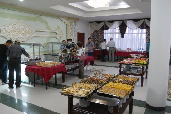 Grand Bukhara Hotel (Bukhara-Tourist): 朝食ビュッフェはGOOD