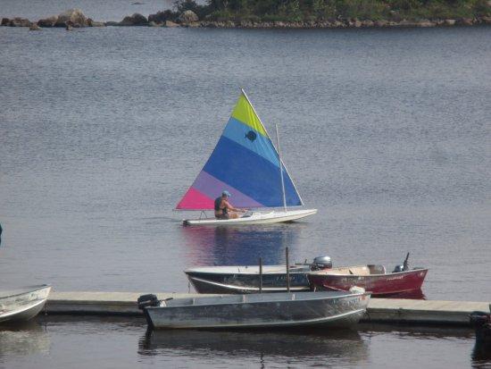 Jackman, ME: Sailing on Attean Lake