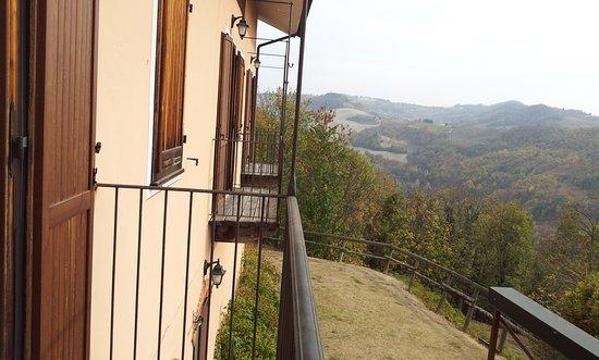 Cissone, อิตาลี: Vista dal balcone