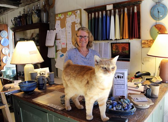 Woolwich, ME: The owner - Tracy King Adams