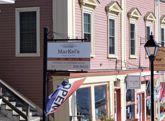 Right off the Main Street in Castine, Maine