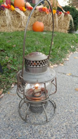 Clifton Forge, VA: Original C&O Railroad Lantern