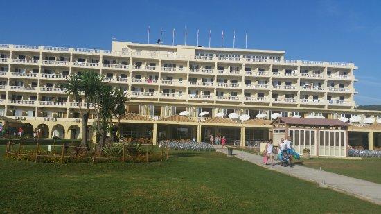 Messonghi Beach Resort: main hotel building