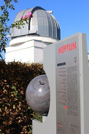 Uhersky Brod, République tchèque : Hvězdárna a Planetární stezka