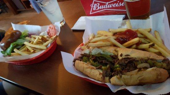 Zanes Tavern: Our food in Zanes