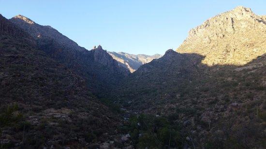 Sabino Canyon: Canyon View