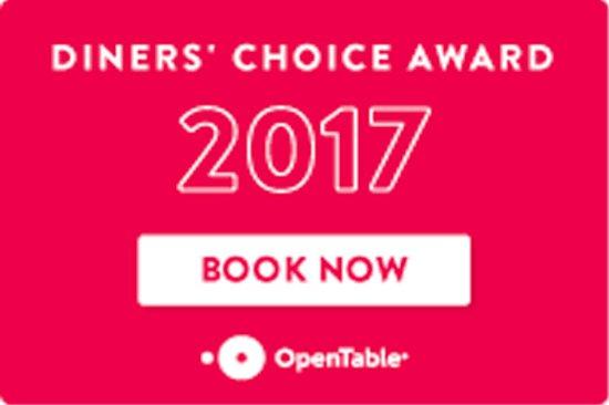 Glendale, OH: 2017 Diner's Choice Award