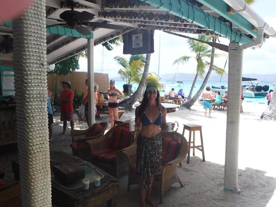 West End, Tortola: Soggy Dollar, Yost Van Dyke