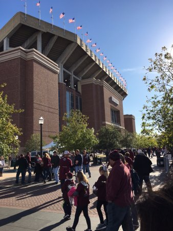 College Station, TX: Front of Kyle Field
