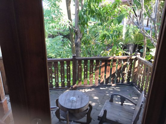 Rumah Batu Villa & Spa : Private Balcony