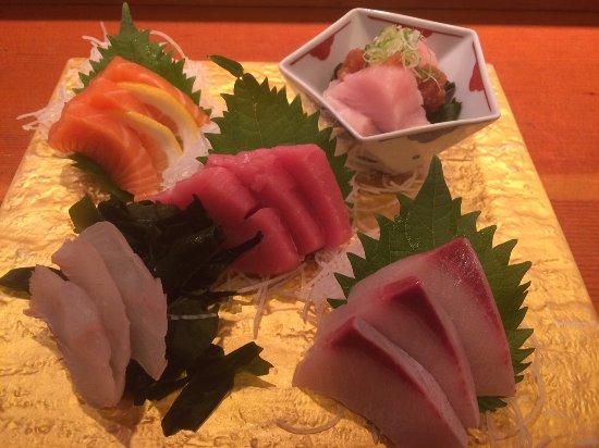 Hatsuhana Restaurant: Sushi lunch ($30) from lunch menu.
