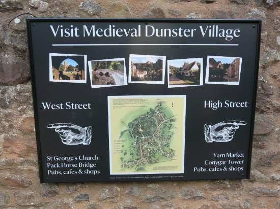 Dunster Village Sign