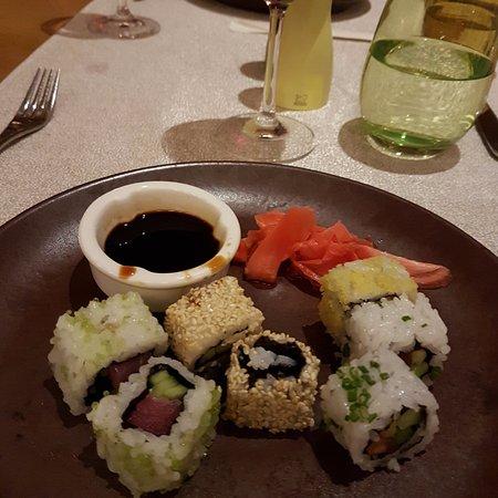 Sushi from the Sushi bar.