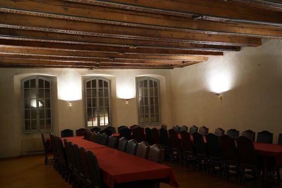 Maison Supersaxo: salle des Solives (1er étage)