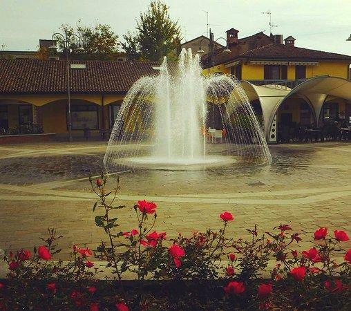 La Fontana   di Corteolona  , da un tocco di classe  al paese