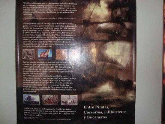 Rio Caribe, Βενεζουέλα: Historias dentro del museo