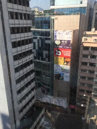 Kimberley Hotel: View from the 17th floor, corner room