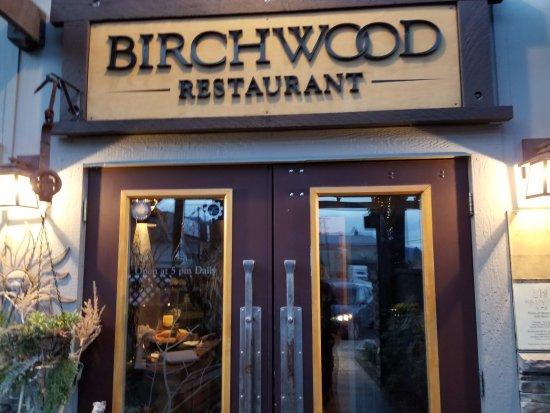 Invermere, Kanada: Birchwood entrance