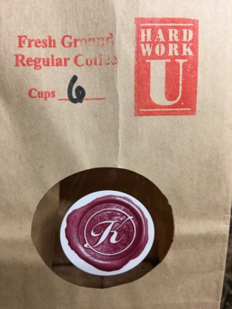 The Keeter Center at College of the Ozarks - Lodging: Freshly ground coffee for your coffee pot!