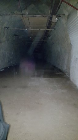 Drakelow Tunnels: This appeared in the middle frame of 3 pictures taken within seconds of each other