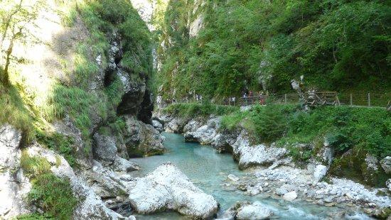 Tolmin Gorge: gorges de Tolmin