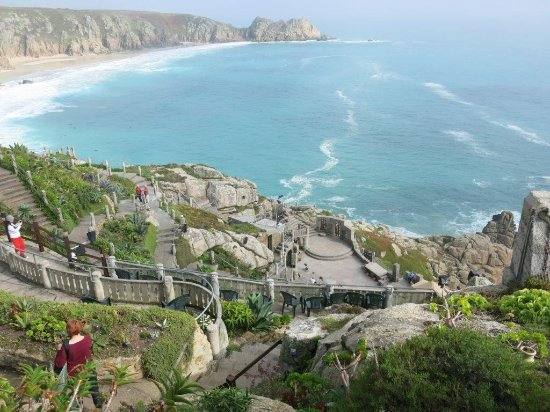Minack Theatre: view from the top