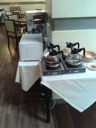 Croce di Malta Hotel: bollitori caffe-the'