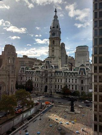 View from Room 1039 at Le Meridien Philadelphia