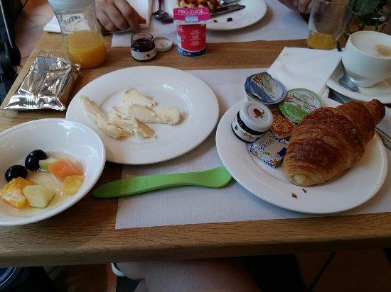 Hotel Francais: Foto do café da manha